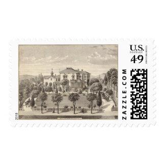 Harrub residence stamp