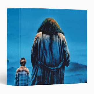Harry and Hagrid International Movie Poster 3 Ring Binder