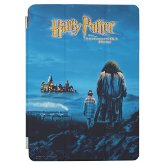 Harry and Hagrid International Movie Poster iPad Air Cover