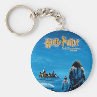 Harry and Hagrid International Movie Poster Keychain