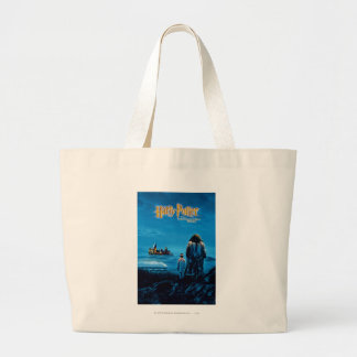 Harry and Hagrid International Movie Poster Large Tote Bag