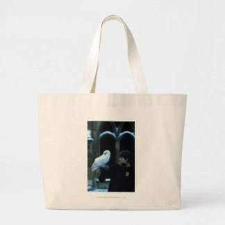 Harry and Hedwig 2 Large Tote Bag