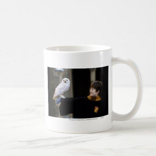 Harry and Hedwig 3 Classic White Coffee Mug