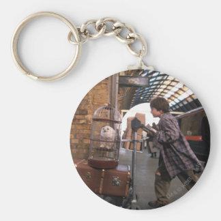 Harry and Hedwig PLATFORM 9 3/4™ Keychain