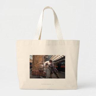 Harry and Hedwig PLATFORM 9 3/4™ Large Tote Bag