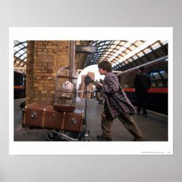 Harry and Hedwig PLATFORM 9 3/4™ Poster