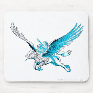 Harry and Hermione on a Hippogriff Mouse Pad