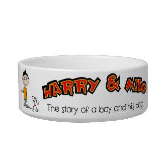 Harry and Milo Doggie Bowl
