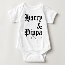Harry and Pippa 2012 Hip Baby Bodysuit