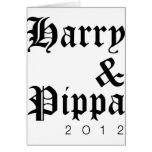 Harry and Pippa 2012 Hip Cards