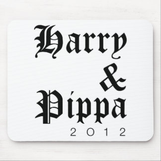 Harry and Pippa 2012 Hip Mouse Pad