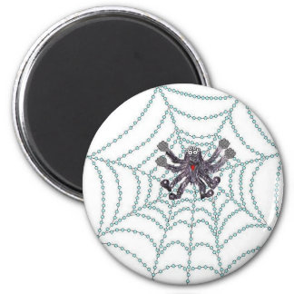 Harry Anderson la araña Imán Redondo 5 Cm