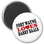 Harry Baals 2 Inch Round Magnet