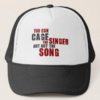 Harry Belafonte Quote (Color) Trucker Hat