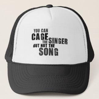 Harry Belafonte Quote Trucker Hat