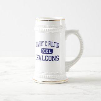 Harry C Fulton Falcons Fountain Valley Coffee Mugs