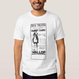 Harry Carey 1921 vintage movie ad T-shirt