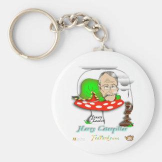 Harry Caterpillar Basic Round Button Keychain