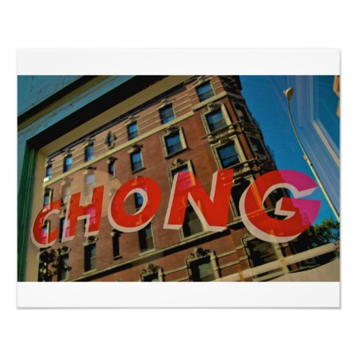 Harry Chong Chinese Laundry-Greenwich Village NYC Photo Print