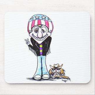 Harry feliz y Hooch (hombre de la paz!) Mouse Pad