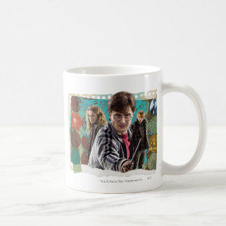 Harry, Hermione, and Ron 1 Classic White Coffee Mug