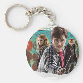 Harry, Hermione, and Ron 1 Keychain