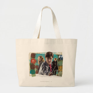 Harry, Hermione, and Ron 1 Large Tote Bag