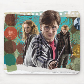 Harry, Hermione, and Ron 1 Mouse Pads