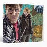 """Harry, Hermione, y Ron 1 Carpeta 1 1/2"""""""