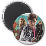 Harry, Hermione, y Ron 1 Imán Redondo 5 Cm