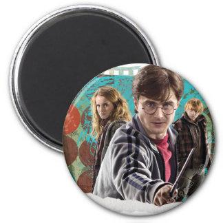 Harry, Hermione, y Ron 1 Imanes