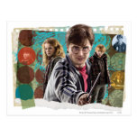 Harry, Hermione, y Ron 1 Tarjetas Postales