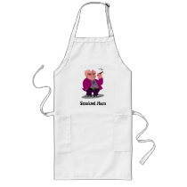 Harry Hog Smokin on a long apron