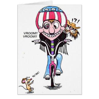 Harry & Hooch bikers Card