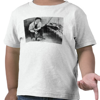 Harry Houdini About to Escape from Prison Tshirt