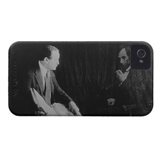 Harry Houdini and the Ghost of Abraham Lincoln iPhone 4 Case-Mate Case