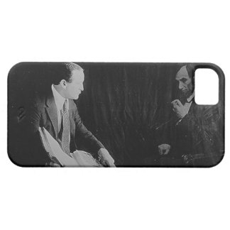 Harry Houdini and the Ghost of Abraham Lincoln iPhone SE/5/5s Case