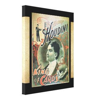 Harry Houdini Canvas Print