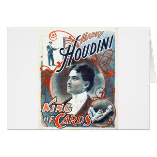 Harry Houdini Card