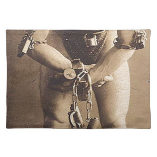 harry houdini cloth placemat