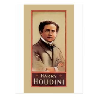Harry Houdini Illusionist ~ Magician ~ Escapologis Postcard