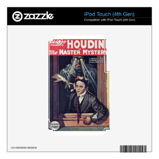 harry houdini iPod touch 4G decals