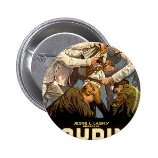 harry houdini pinback button