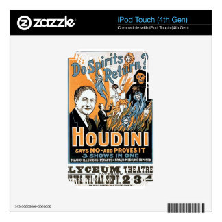 harry houdini skin for iPod touch 4G