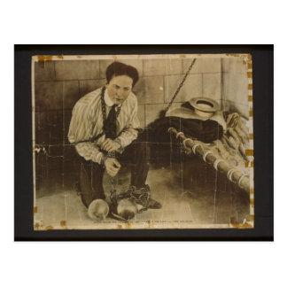 Harry Houdini Postal