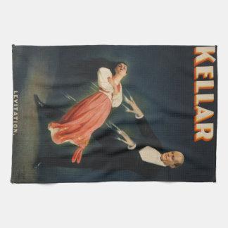 "Harry Kellar, ""Levitation"" Towels"
