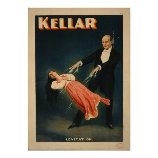 Harry Kellar Magician Advertising Poster