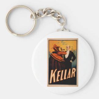 Harry Kellar Magician Basic Round Button Keychain