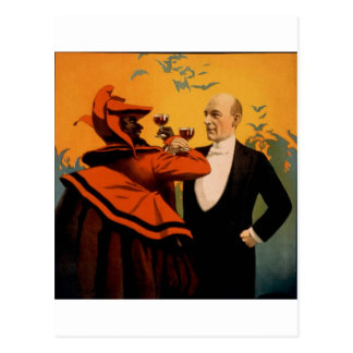 Harry Kellar Magician Closeup Postcard
