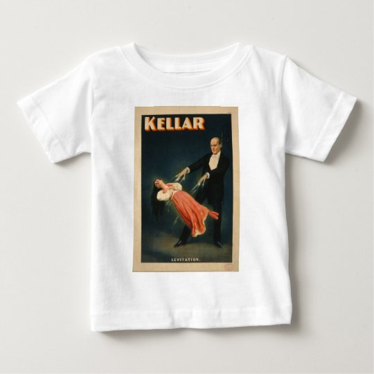 Harry Kellar performs Levitation 1895 Magic Baby T-Shirt